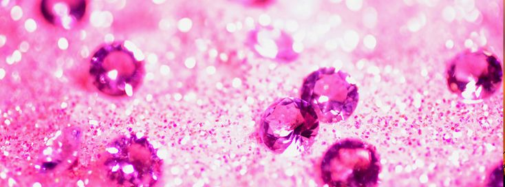 Pink Glitter Facebook Cover