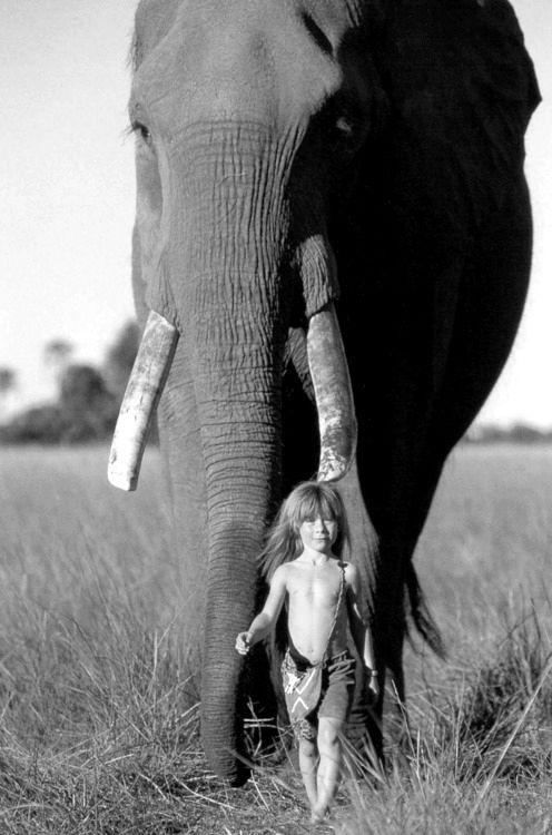 Tippi walking with her friend ( http://www.youtube.com/watch?v=aZyMwFWRqfg )