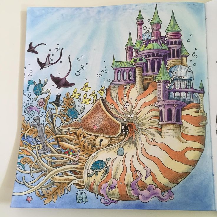 17 best images about coloring book imagimorphia on for Imagimorphia coloring pages