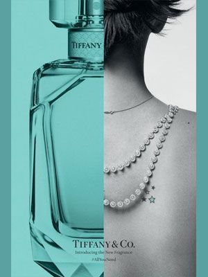 Perfume Ad, Tiffany And Co, New Fragrances, Sparkle, Product Launch, Luxury 3ad81d436eb5