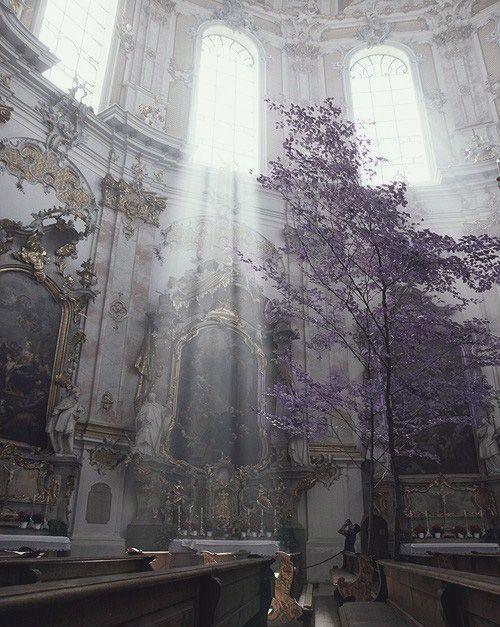 Ettal Abbey, Bavaria -  Sanctuary