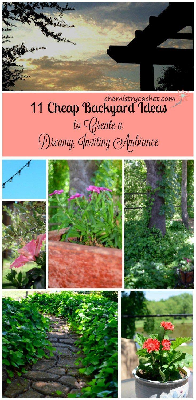 11 Cheap Backyard Ideas to Create a
