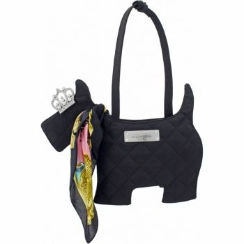 My Flat in London Harvard To Haute Haighbury Limited Edition Scottie Dog Bag Handbags available at Ear Abstracts Boutique (714) 996-3505