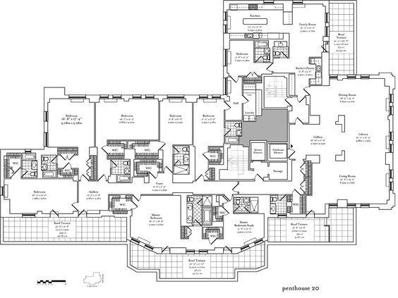 86 best Mansion penthouse floor plans images – Villas At Fortune Place Floor Plan