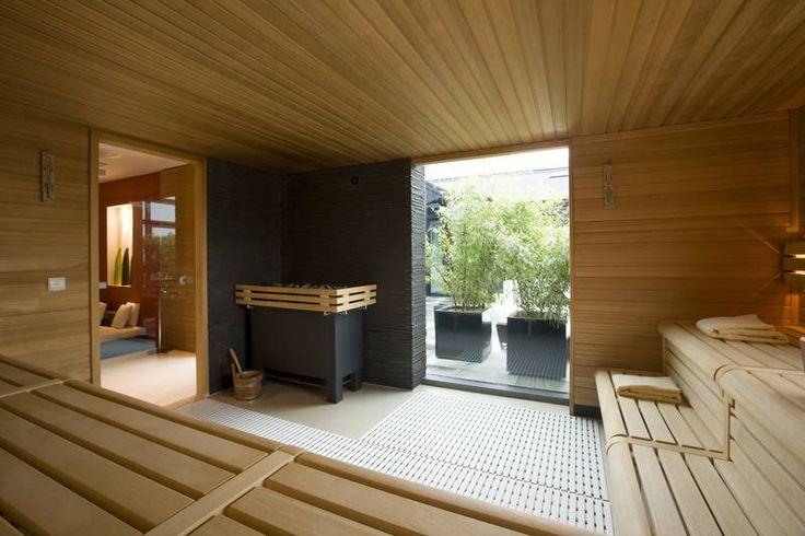 Accessible sauna, esteetön sauna