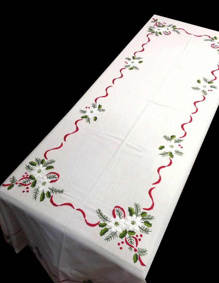 The 25 best manteles de tela ideas on pinterest mesas - Manteles para navidad ...