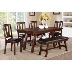 Dark Walnut Kitchen Chairs