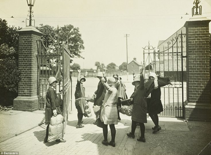 Girls at the gates: The village in Barkingside provided safety, education and training to ...
