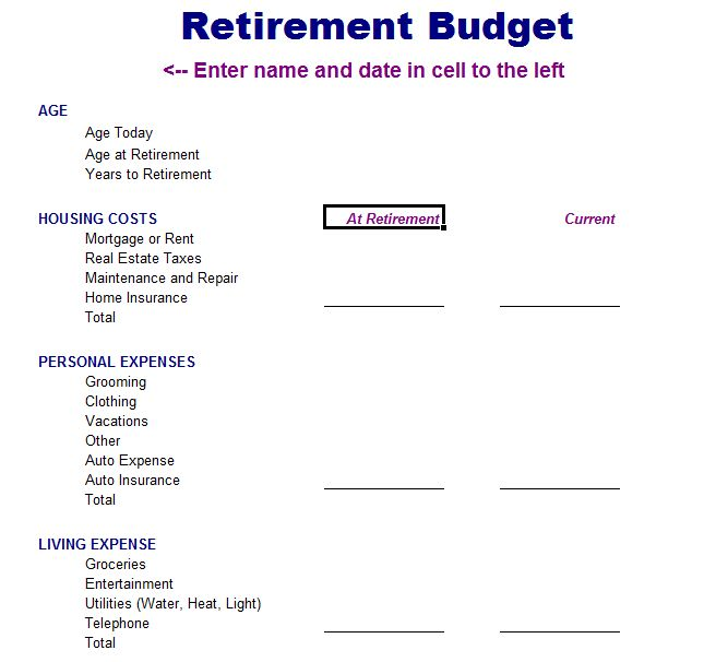7 best budget templates images on pinterest budget templates