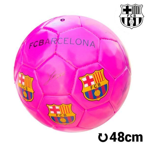 F.C. Barcelona Medium-sized Pink Football – 1Deebrand