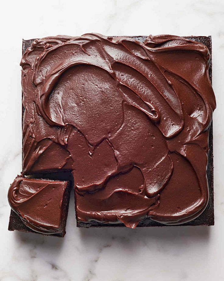 fudgy chocolate beet cake from Martha Stewart.  A healthier version!