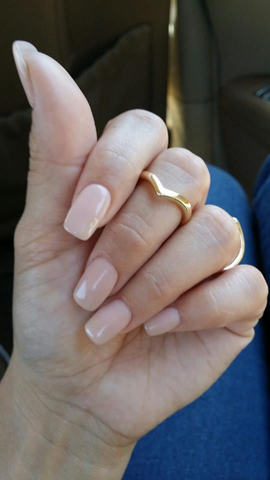 "New nude #shellac color called ""powder my nose"""