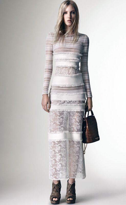 Burberry Womenswear Spring_Summer 2016 Pre-Collection - Look 12