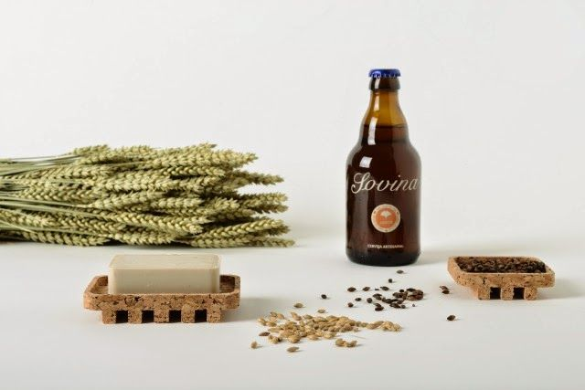 SOVINA soaps made with beer. Portuguese products are simply amazing / www.colectivo7186.com