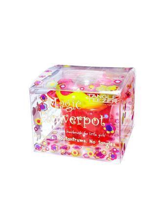 Tangle Teezer Расческа детская Мэджик Флауэрпот розовая  — 1490р.  Tangle Teezer Magic Flowerpot. Детская расческа выполнена в форме цветка в стаканчике, в котором удобно хранить резинки и заколки для волос. Безболезненно расчесывает  как мокрые, так и сухие нежные детские волосы, с легкостью распутывает колтуны, так как зубчики изготовлены из гибкого, пластичного материала. На крышке расположена рамка для фотографии. Расческой Tangle Teezer расчесывать волосы можно от самых корней (а не с…