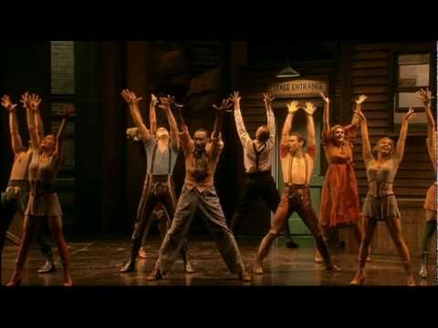 """Too Darn Hot,"" Kiss Me, Kate, 2002 UK cast (don't ask me for names!), terrific song and dance routine.  Don't miss it."