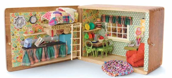 Found On Cath Kidston S Fb Page In Her Dream Room In A: 258 Best Dollhouse Miniatures Images On Pinterest