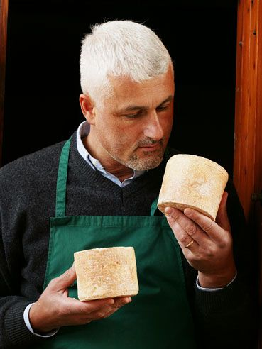 Castellino cheese and its creator