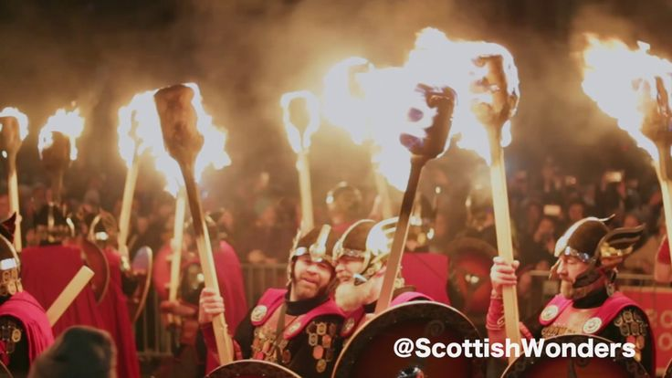 TORCHLIGHT PROCESSION - Edinburgh's Hogmanay 2016/17 - YouTube--One of the few occasions when it's fun to see a line of #Vikings with torches, marching towards you.  #Edinburgh #Hogmanay2017   https://youtu.be/5rQ5pcXO8G0