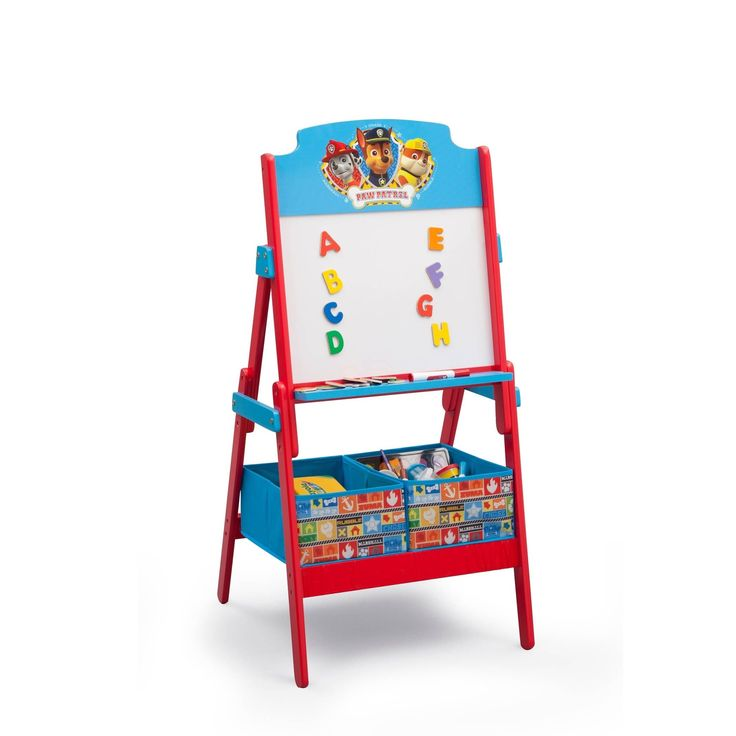 Nick Jr Paw Patrol Activity Easel With Dry Erase Board
