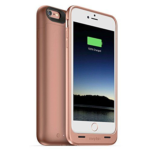 mophie Battery Case for iPhone 6 Plus, iPhone 6S Plus - Retail Packaging - Rose Gold mophie