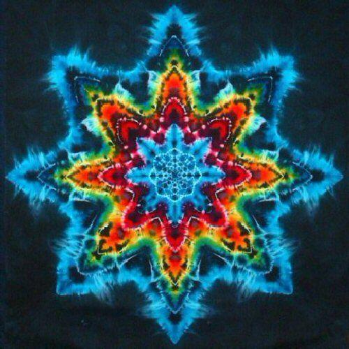 FAQ: How do you tie-dye a star or mandala pattern?
