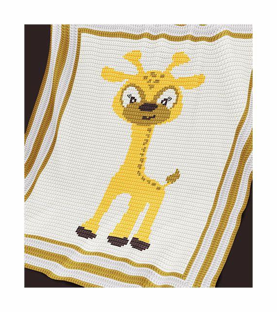 Crochet Pattern  Baby Blanket Pattern  Baby by PatternWorldUK