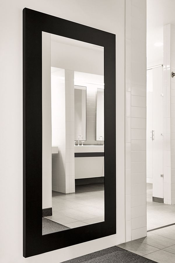manhattan leaning mirrors in natural steel in 2019 room board rh pinterest com