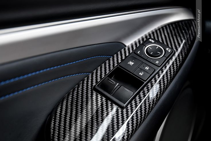 Real carbonfiber trim in Lexus RC-F Carbon #Lexus #RC-F
