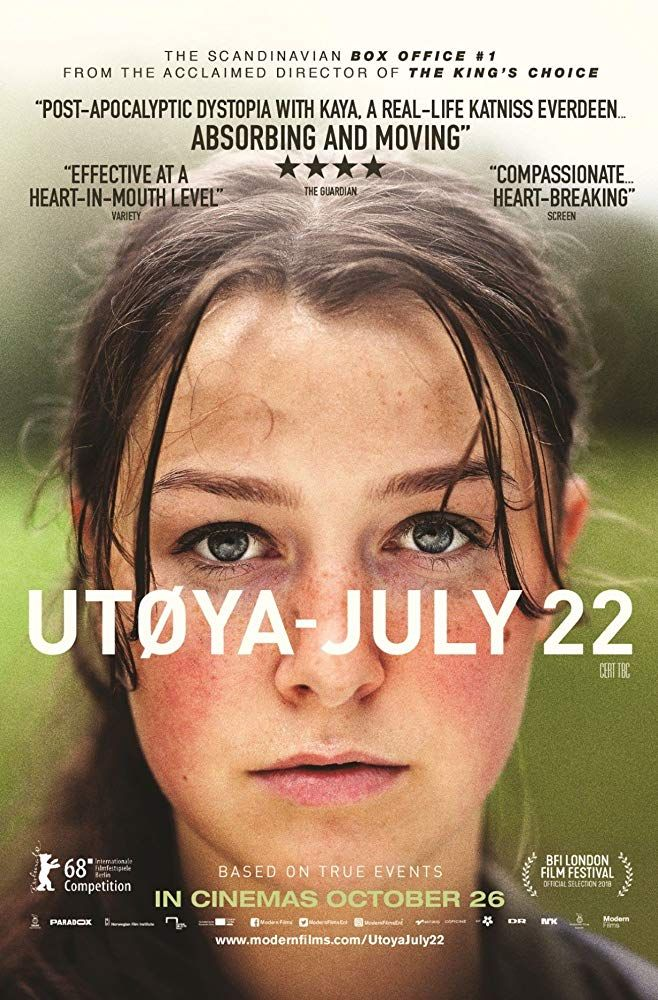 Utoya 22 Juli 2018 Full Film Izle Film Movies To Watch Free