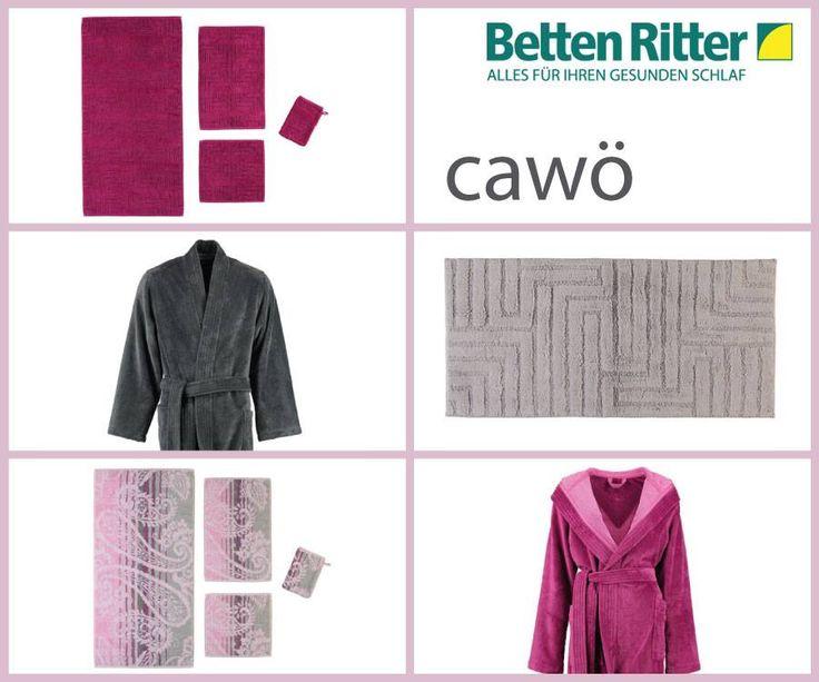Cawö- Frottiertücher und Bademäntel für höchste Ansprüche  Gefertigt aus 100% reiner Baumwolle, mit Liebe zum Detail und großer Sorgfalt, für lang anhaltende Freude am Produkt.  https://www.bettenritter.com/cawoe-handtuecher-und-frottierware