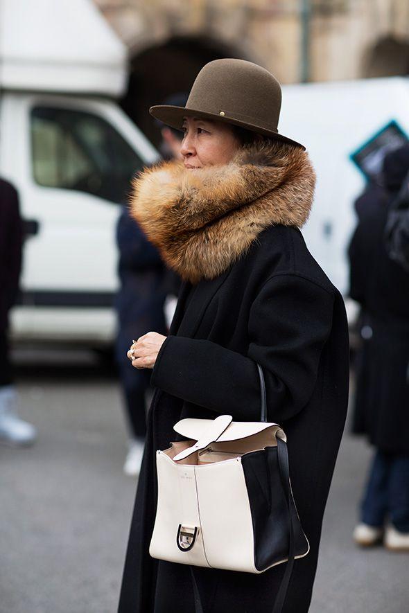 On the Street….Winter Wrap, Paris & Milan