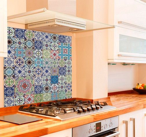 Glass - Buy printed Glass Splashbacks - Moroccan Tiles | SplashbacksUK - Splashbacks UK