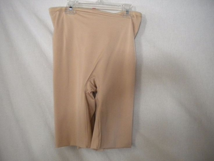 Hide & Sleek Spanx Size Medium High Waist Womens Shapewear Slip #Spanx #Shaper