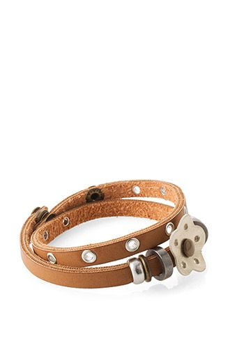 Esprit - Armbånd i læderlook i Esprits Online-Shop