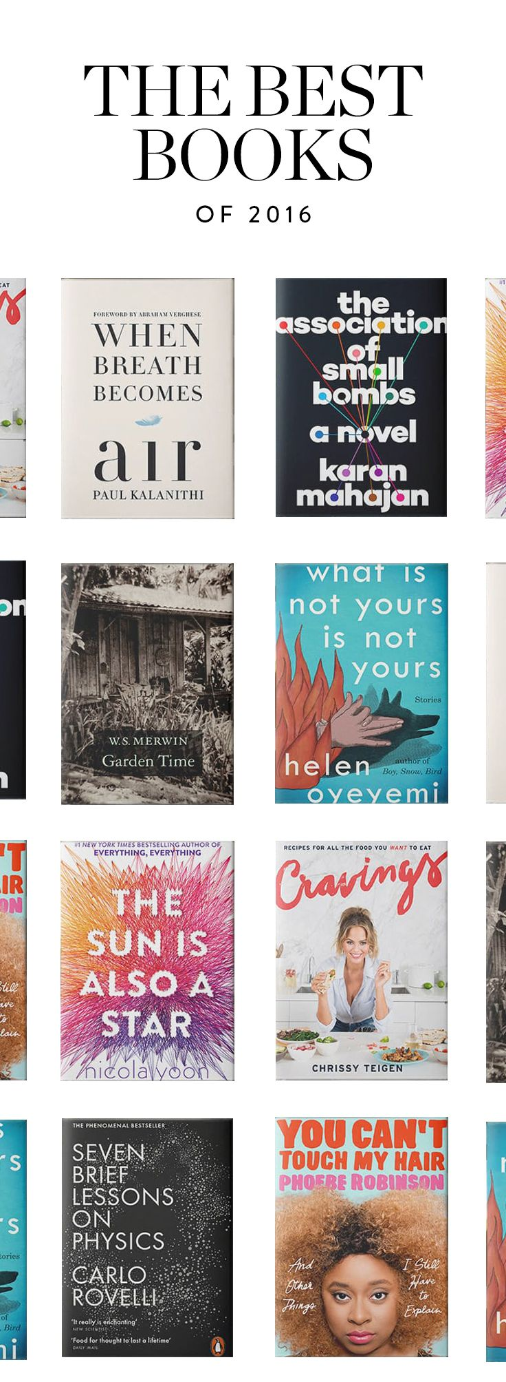 The Best Books of 2016 via @PureWow (=)