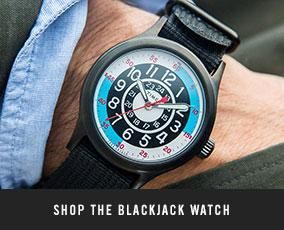 The Todd Snyder + Timex Blackjack Watch