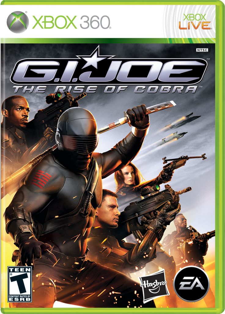 Covers for G.I. Joe: Rise of COBRA video game officially revealed ...