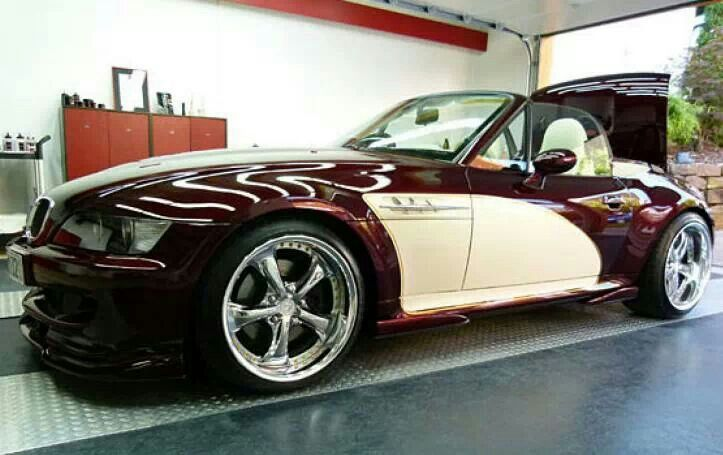 Bmw Z3 In Two Tone Paint Bmw Roadsters Amp Coupes