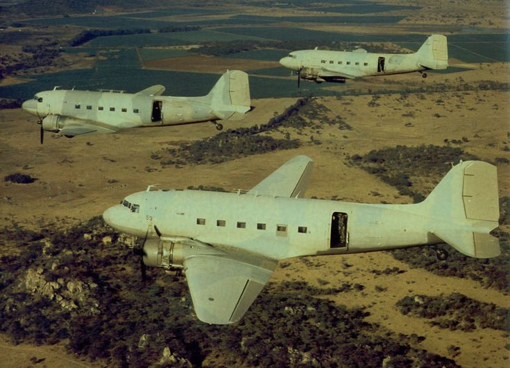 Dakotas en route to the Chimoio strike
