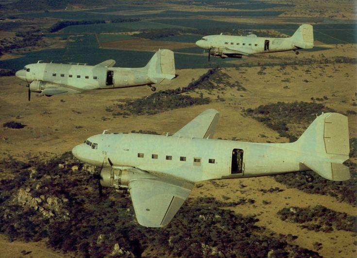 Dakotas en route to the Chimoio strike