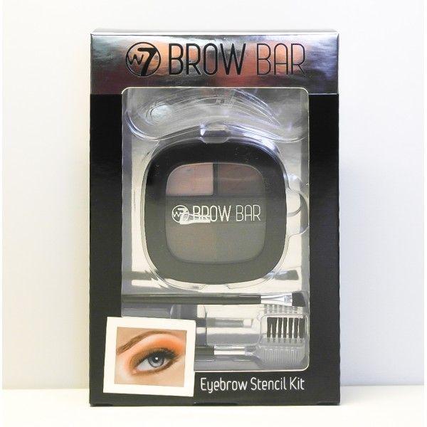 Smart sæt med palette der indeholder 4 øjenbryns farver, 3 øjensbryns stencils (skabeloner), 1 øjenbryns kam og 1 skrå øjenbrynsbørste. Alt sammen er pakket i en flot gaveæske.