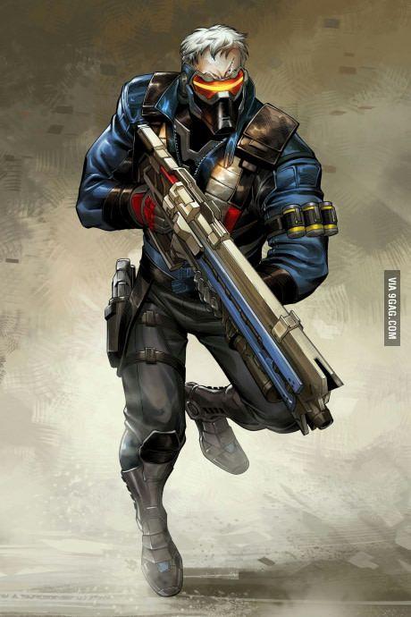 Soldier 76; Overwatch
