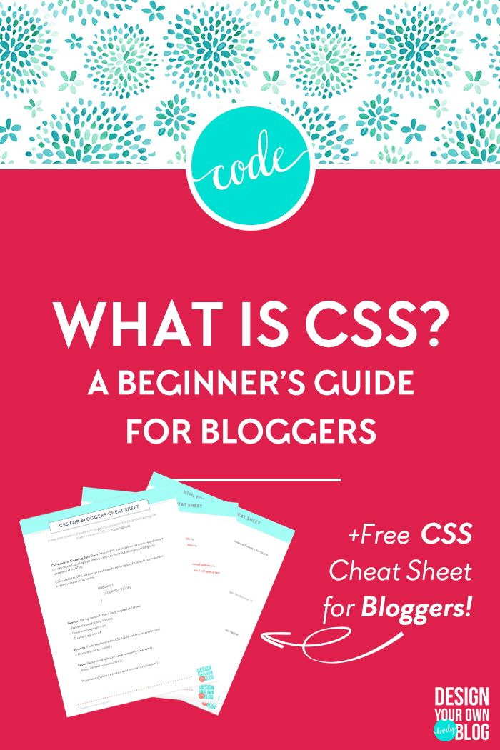 What is CSS? A Beginner's Guide for Bloggers