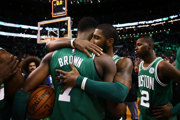 Jaylen Brown played an incredible game against the Warriors the day after his best friend passed