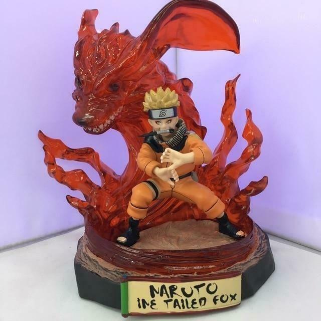 Uzumaki Naruto Kurama Kyuubi Nine-Tailed Fox Figure Figurine