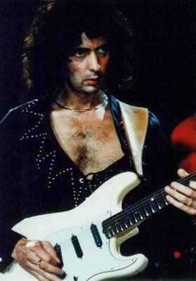 Ritchie Blackmore - Deep Purple One of the most underrated guitarist, his playing has always been so fantastic !!!