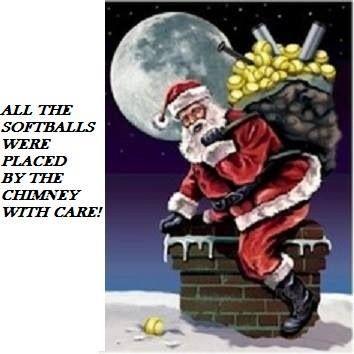 Image result for Softball Christmas Greetings