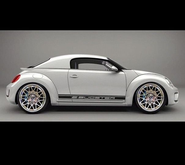 VW Beetle, rendering?
