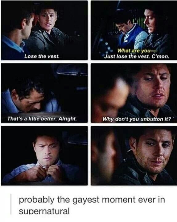 Just one of many! #Destiel